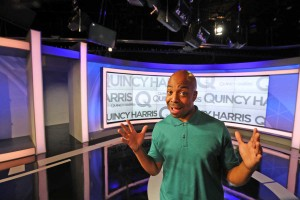 "The Q"" hosted by Quincy Harris debuts on FOX 29 September 12th, 2016. ( DAVID SWANSON / Staff Photographer )"